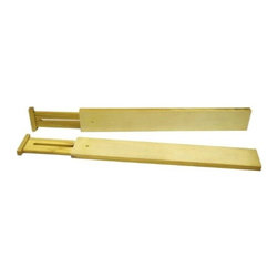 Axis Expandable Kitchen Drawer Divider, Set of 2 - Organize those large kitchen drawers with these adjustable dividers.