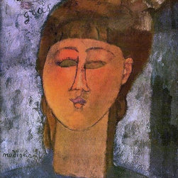 """Art MegaMart - Amedeo Modigliani The Fat Child - 20"""" x 25"""" Premium Canvas Print - 20"""" x 25"""" Amedeo Modigliani The Fat Child premium canvas print reproduced to meet museum quality standards. Our museum quality canvas prints are produced using high-precision print technology for a more accurate reproduction printed on high quality canvas with fade-resistant, archival inks. Our progressive business model allows us to offer works of art to you at the best wholesale pricing, significantly less than art gallery prices, affordable to all. We present a comprehensive collection of exceptional canvas art reproductions by Amedeo Modigliani."""