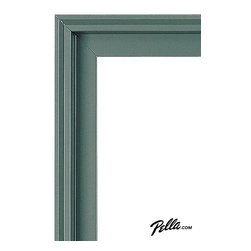 EnduraClad® Exterior Finish in Hemlock - Available on Pella Architect Series® and Designer Series® wood windows and patio doors, EnduraClad exterior finishes offer 27 standard and virtually unlimited custom color options.