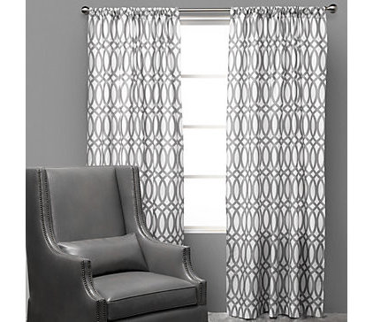 Contemporary Curtains by Z Gallerie