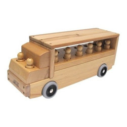 ECR4KIDS Transportation Vehicle - Single-Decker Bus - The ECR4KIDS Transportation Vehicle – Single-Decker Bus is a high-quality toy designed for years of active play, with smoothly sanded solid wood construction backed by a limited lifetime guarantee from ECR4KIDS. This beautifully made toy comes with two wood figures, and has 12 passenger slots for use with other vehicles and figures from the ECR4KIDS block and vehicle collections.About Early Childhood ResourcesEarly Childhood Resources is a wholesale manufacturer of early childhood and educational products. It is committed to developing and distributing only the highest-quality products, ensuring that these products represent the maximum value in the marketplace. Combining its responsibility to the community and its desire to be environmentally conscious, Early Childhood Resources has eliminated almost all of its cardboard waste by implementing commercial Cardboard Shredding equipment in its facilities. You can be assured of maximum value with Early Childhood Resources.