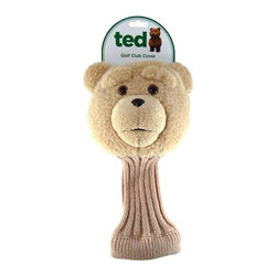KOOLEKOO - Ted R-Rated Talking Golf Club Cover - Play golf with a raunchy-talking teddy bear - Ted! This Ted R-Rated Talking Golf Club Cover ought to liven up the country club! He looks so cute and innocent, but he's really nothing of the sort. In fact, he's quite the raunchy little guy when he starts saying stuff. You'd never expect it from a teddy bear, but that just goes to show that you can't judge a book (or a golf club) by its cover! You'll love this Talking Ted Golf Club Cover that says 5 phrases directly out of the hilarious Ted movie. You cannot change the batteries in the Ted Talking Golf Club Cover as they are irreplaceable. They should last about 3,000 hits. Includes non-replaceable batteries.