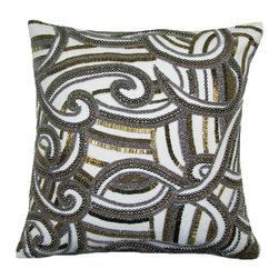 Charisma Pillow, Gold-Silver - Charisma pillow.