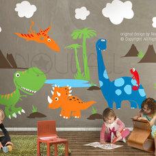 Modern Kids Decor by designer playground