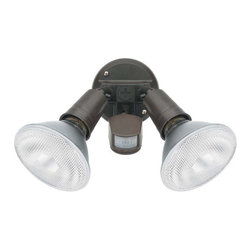 Globe Electric - Globe Electric 79100 300 Watt Two Light Infrared Motion Sensored Outdoor Securit - Features: