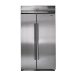 "Sub-Zero 42"" Built-In Side-by-Side Refrigerator/Freezer - Sub-Zero's dual refrigeration, along with air purification and water filtration systems, guard the freshness of food and water."