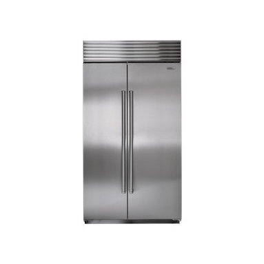 """Sub-Zero 42"""" Built-In Side-by-Side Refrigerator/Freezer - Sub-Zero's dual refrigeration, along with air purification and water filtration systems, guard the freshness of food and water."""