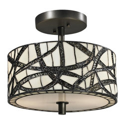 Dale Tiffany - New Dale Tiffany Ceiling Fixture Bronze - Product Details
