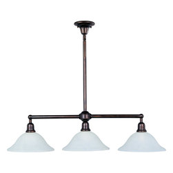 Maxim Lighting - Maxim Lighting 11093SVOI BEL Air 3-Light Pendant - Maxim Lighting 11093SVOI Bel Air 3-Light Pendant