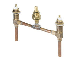 PRICE PFISTER - 2 Handle Roman Tub Rough in Fix Body Kit - Features: