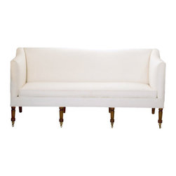 Geranium Sofa - I love this one. Need a banquette but don't want a built-in piece? This is it.