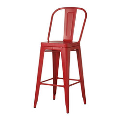 "Home Decorators Collection - Garden Bar Stool - Our Garden Bar Stool adds unique style to any bar in your home—whether indoors or outdoors. Built to last of top-quality, weatherproof materials, you'll enjoy owning this stool year after year. 30""H seat. Indoor/outdoor versatility. Painted stools are weather proof."