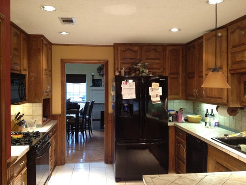 Our Updated 80 S Kitchen And Family Room