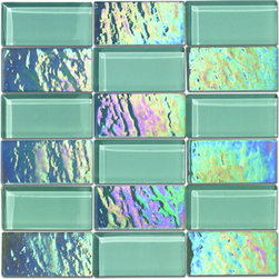 """Alttoglass Precious stone series color Diamond - Alttoglass Precious Stone Diamond 12"""" x 12"""" Glass Mosaic Tile Features: Application: Indoor only, Walls Install Type: Thin-Set Usage: Commercial or Residential Color:Rubi Product Type Mosaic Tile Coverage 1 sq ft Piece(s):11 per Box Material:GlassTile Size:12 x 12 format / Shape Square Tile Use: Wall Series:Precious Stone Brand:Alttoglass Weight: 4.00 lbs Dimensions:Length - 12.00""""   Width - 12.00"""""""