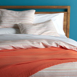 Seaside Coral Bed Linens -
