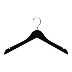 Top Hanger with Notches, Velvet