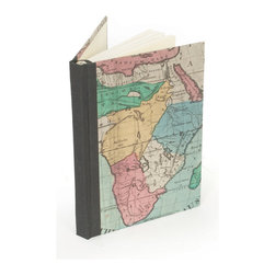 Go Home - Memories of the World Journal- Set Of 2 - This unique memories world journal is absolutely perfect for your big art and design books collection. Available in set of two.