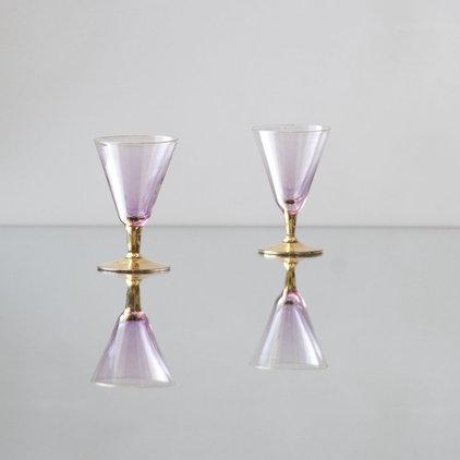 Contemporary Everyday Glassware by Casa de Perrin