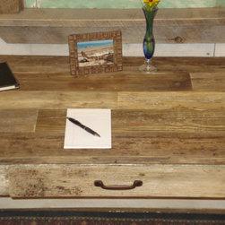 Driftwood Desk 50 x 24 x 30h - Rustic, Handmade, Driftwood Desk with Draw