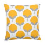Look Here Jane, LLC - Caroline Sunshine Yellow Pillow Cover - PILLOW COVER