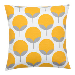 Look Here Jane, LLC - Caroline Sunshine Yellow Pillow Cover - PILLOW COVER