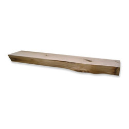 Kettle Moraine Hardwoods Inc - Kettle Moraine Hardwoods Read Rustic Fireplace Mantel Shelf Multicolor - 5 FT. N - Shop for Trim from Hayneedle.com! What We Like About This Fireplace Mantel Cut from the rugged side of a basswood tree this mantel features a rough front. The mantel ends have natural scuff marks and the slab has a smooth top. With a beautiful wood top and face this mantel has a natural appearance.Please note: Mantel shelf will vary slightly from the one shown. Because each log is different each mantel has its own unique grain and characteristics. These differences do not affect the structural strength of the mantel.