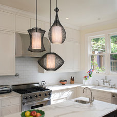 Contemporary  Nordic Cluster in Kitchen
