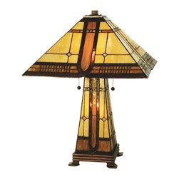 "Meyda Lighting - Meyda Lighting 50805 25""H Sierra Prairie Mission Lighted Base Table Lamp - Meyda Lighting 50805 25""H Sierra Prairie Mission Lighted Base Table Lamp"