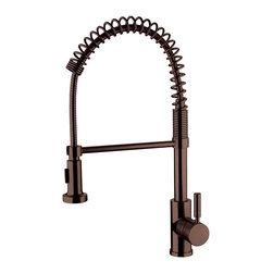 Yosemite Home Decor - YP2814A-ORB Two Handle Widespread Tub Faucet Faucets Collection - Single Handle Pull out Kitchen Faucet  Finish with 2FT extended hose No pop up drain included Oil Rubbed Bronze