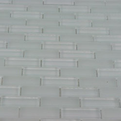 Loft Seafoam Brick Glass Tiles