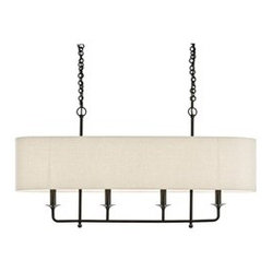 Beatty 4 Light Bronze Chandelier