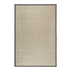 Safavieh - Safavieh Natural Fiber Casual Rug X-6-B144FN - Hand-woven with natural fibers, this casual area rug is innately soft and durable. This densely woven rug will add a warm accent and feel to any home. The natural latex backing adds durability and helps hold the rug in place.