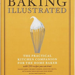 "Baking Illustrated Cookbook - From the test cooks and editors of ""Cook's Illustrated,"" this compilation of 350 recipes you can trust helps you make the best baked goods while avoiding common baking pitfalls. This practical kitchen companion for the home baker explores every ingredient, technique and piece of equipment critical to baking success. Of course, the signature illustrations are in abundance to help you perfect each recipe."
