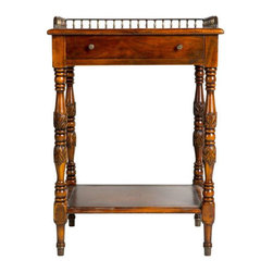 Vintage Library Table with Carved Legs - $1,450 Est. Retail - $675 on Chairish.c -