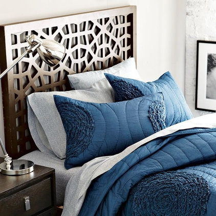 Eclectic Headboards by West Elm