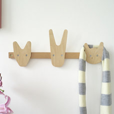 contemporary nursery decor by Theo