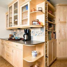 Contemporary Kitchen by Design Diva LLC