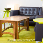 PopIt Furniture - Popit Bamboo Coffee Table, available in a variety of finishes. Visit our website for more information.