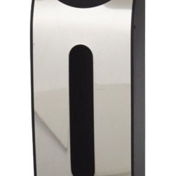 simplehuman studio Grocery Bag Holder - Are you drowning in a sea of plastic bags? This canister mounts to the wall or inside of a cabinet and neatly stores all those pesky bags.