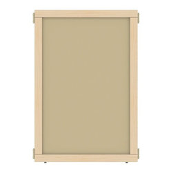 Jonti-Craft - A-Height Hardboard Panel (48 in. W x 35.5 in. H (20 lbs.)) - Choose Size: 48 in. W x 35. 5 in. H (20 lbs. ). KYDZ Suite Panels help create or define a space for your unique needs. Hardboard is heat treated and tempered to be moisture, chip and crack resistant and is protected by Jonti-Craft's