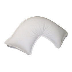 None - Pillow Bar Jetsetter Mini White Down Neck Pillow - This pillow bar is perfect for travel or home. Designed to support the neck,this pillow offers a comfortable sleep.