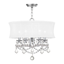 Livex Lighting - Livex Lighting 6305-91 Ceiling Light/Chandeliers - Livex Lighting 6305-91 Ceiling Light/Chandeliers