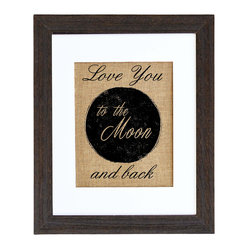 Love You To The Moon Art