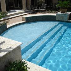 Mediterranean Pool by J. Allen Designs