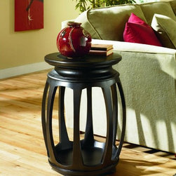 Round End Table, Hammary -