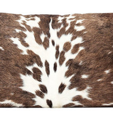 Rustic Decorative Pillows by The Cow Pelt