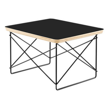 Herman Miller - Eames Wire-Base Table - Get wired! If your style is modern or contemporary, you'll immediately see the versatility of this Eames accent table. Clean lines, geometric design and utilitarian design make this table a must-have.
