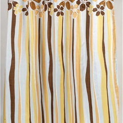 Other Brands - Carnation Home Fashions Mandy Flower Stripe Fabric Shower Curtain - FSC-MAN - Shop for Shower Curtains from Hayneedle.com! Friendly yellow-and-brown flowers and stripes give the Carnation Home Fashions Mandy Flower Stripe Fabric Shower Curtain its casual charm. You'll love how this shower curtain freshens up your bath. It's made of machine-washable polyester fabric for beauty that lasts.About Carnation Home FashionsYour home your style Carnation Home Fashions believes in this motto. That s why this home fashions company offers a wide range of on-trend and classic products designed for style and convenience. Perfect for matching today s busy lifestyles their bath products meet your needs in style. Carnation Home Fashions is based in Newburgh New York.