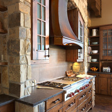 Rustic Kitchen by Raw Urth Designs