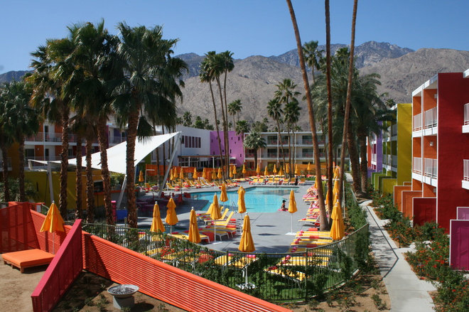 Color Me Dazzled The Saguaro Hotel In Palm Springs